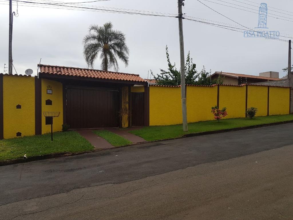 Chácara residencial à venda, Balneario Tropical, Paulínia - CH0069.
