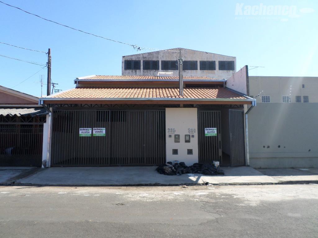 Casa residencial para venda e locação, Jardim Bela Vista, Sumaré.