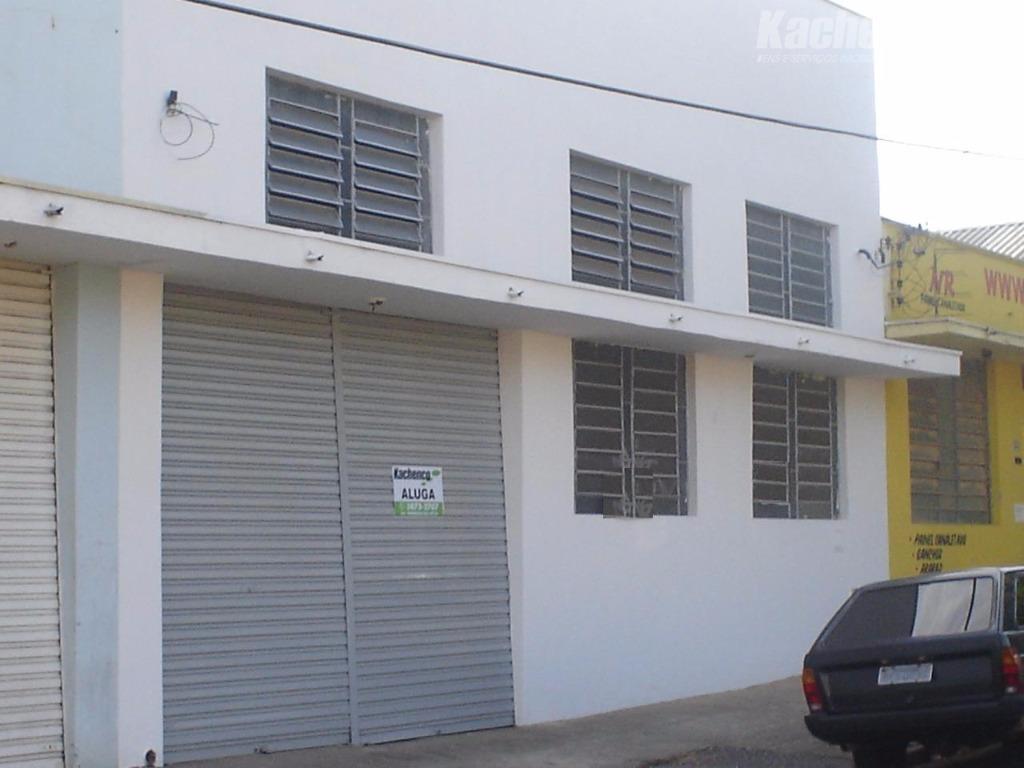 Salão comercial para locação, Jardim São Carlos, Sumaré.