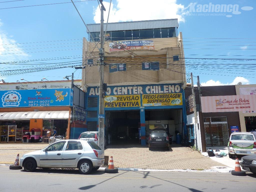 Sala comercial para locação, Parque Virgílio Viel, Sumaré.