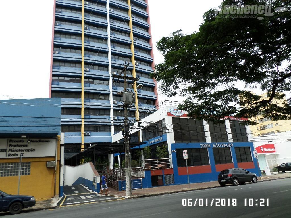 Sala comercial para locação, Centro, Campinas.