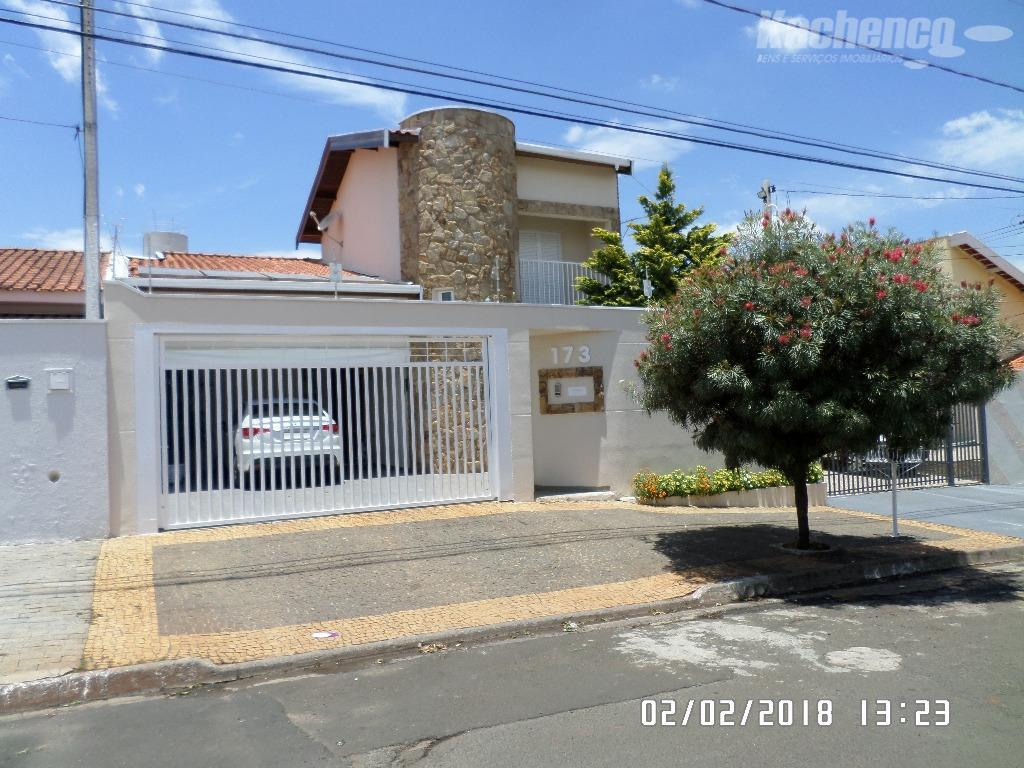 Sobrado residencial à venda, Parque Residencial Casarão, Sumaré - SO0039.