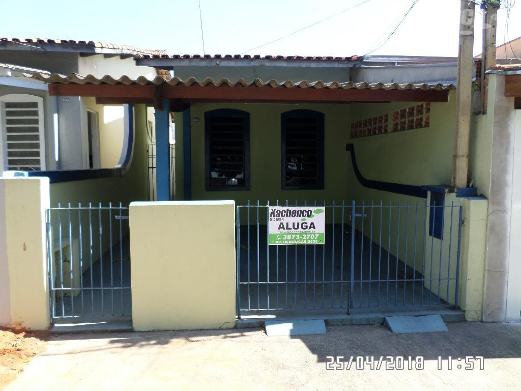 Casa residencial para locação, Jardim João Paulo II, Sumaré.
