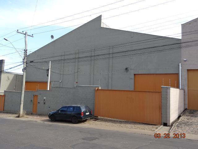 Galpão comercial para locação, Chácara Bela Vista, Sumaré.