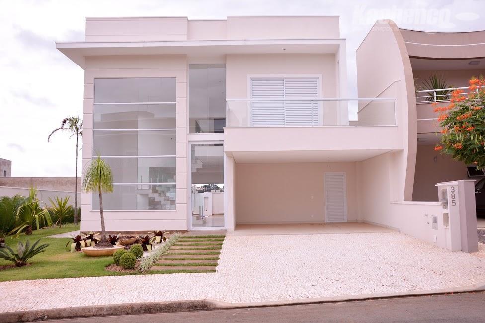Sobrado residencial à venda, Loteamento Residencial Jardim dos Ipês Amarelos, Americana - SO0085.