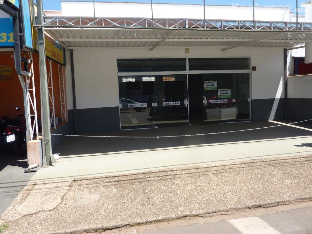 Salão comercial para locação, Parque Residencial Casarão, Sumaré.
