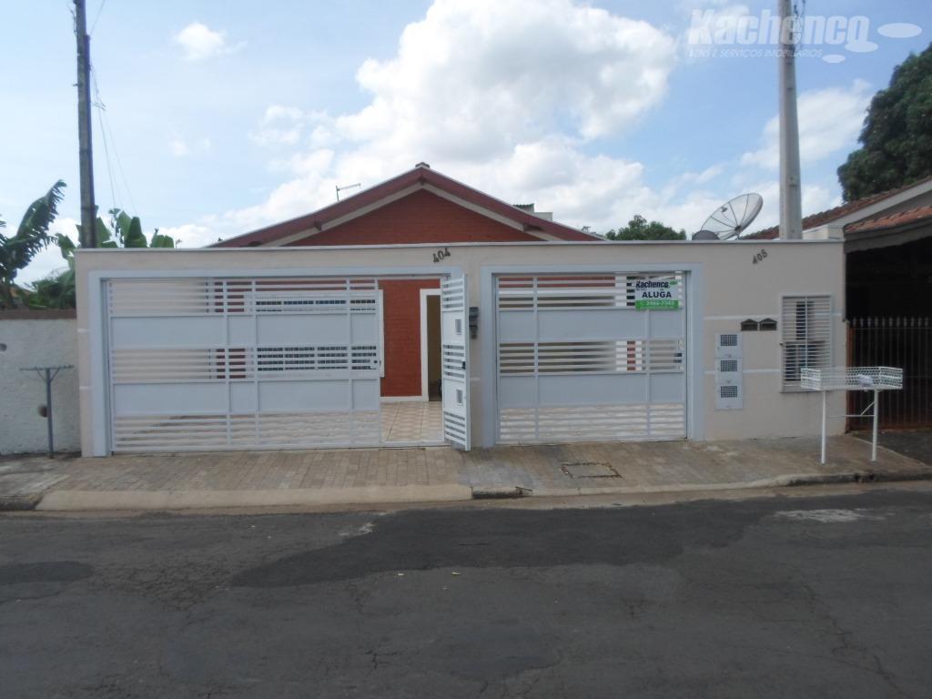 Casa com 2 dormitórios para alugar, 100 m² por R$ 900/mês - Jardim Santa Rosa - Nova Odessa/SP