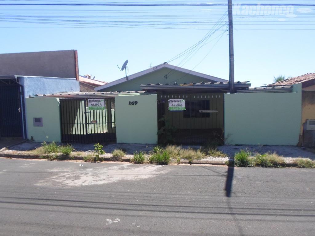 Casa residencial para locação, Jardim Santa Rosa, Nova Odessa.