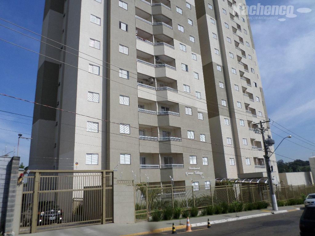 Apartamento  residencial para locação, Green Village, Nova Odessa.