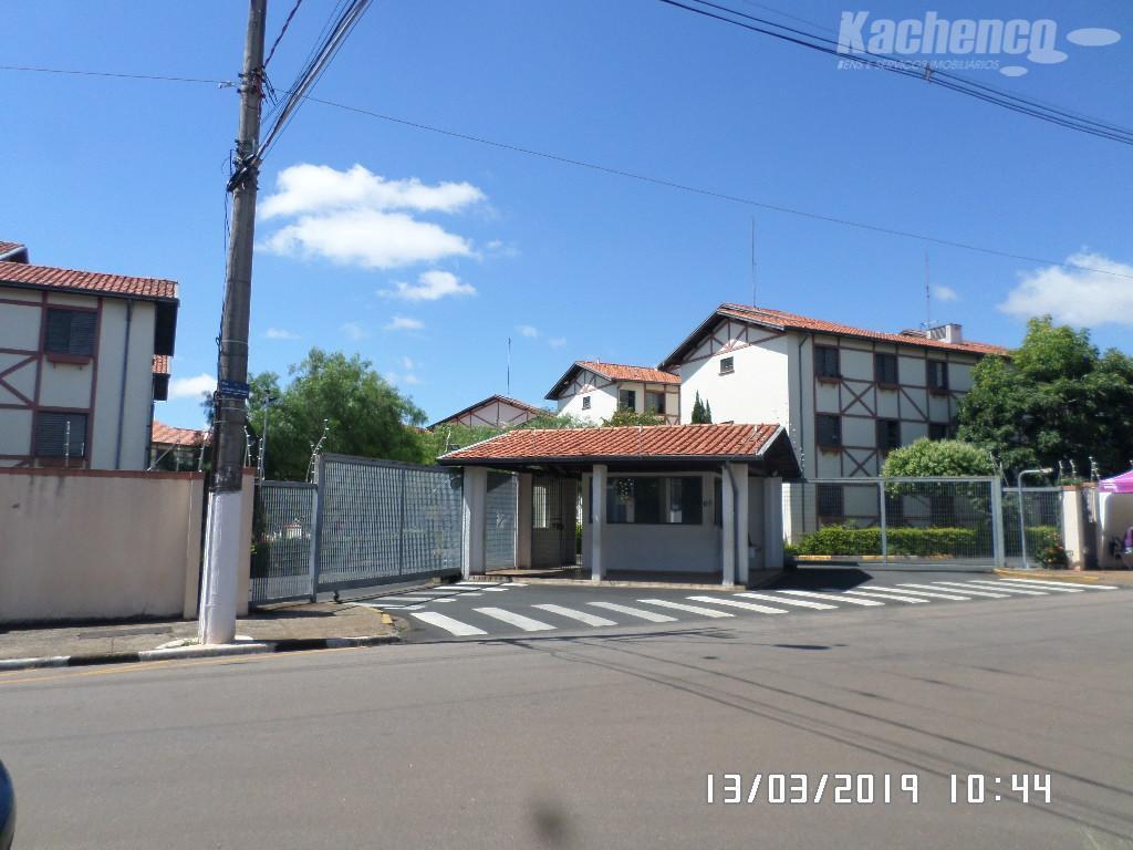 Apartamento com 2 dormitórios para alugar, 57 m² por R$ 800/mês - Jardim João Paulo II - Sumaré/SP