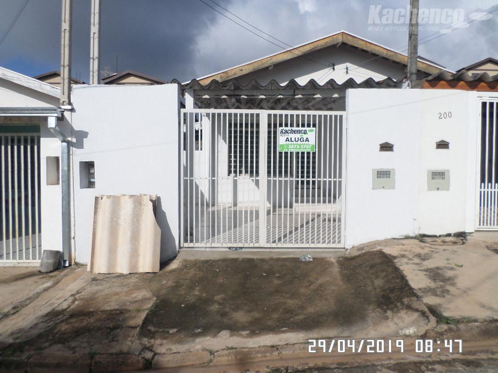 Casa com 1 dormitório para alugar, 49 m² por R$ 800/mês - Parque João de Vasconcelos - Sumaré/SP