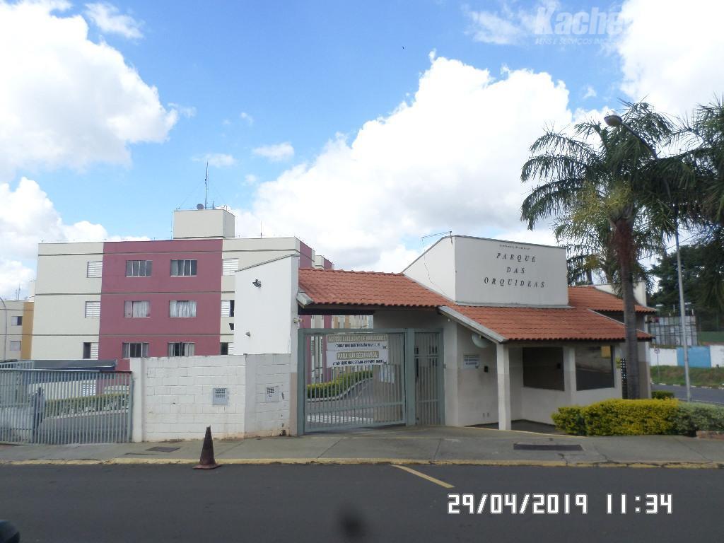 Apartamento com 3 dormitórios para alugar, 67 m² por R$ 650/mês - Jardim Marchissolo - Sumaré/SP