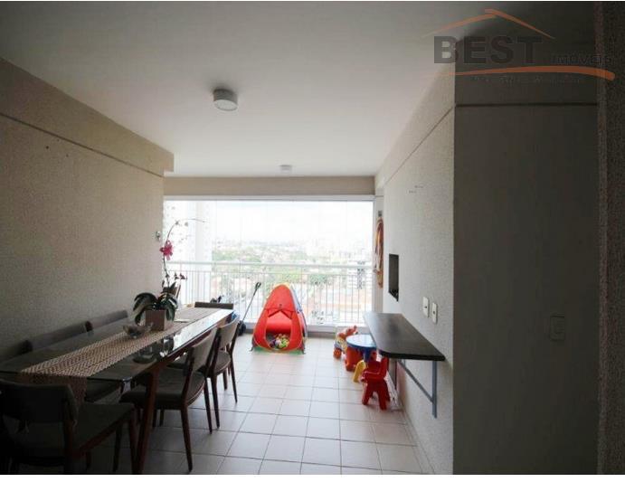 rua tranquila,apartamento rico em armários embutidos, andar alto, vista para city, varanda gourmet, 2 vagas, lazer...