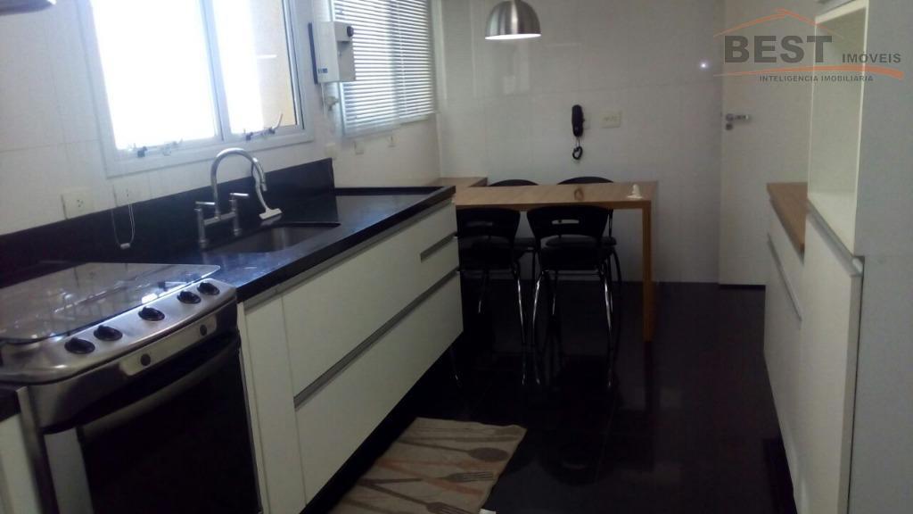 localização privilegiada, arborizada, condomínio com ótima infraestrutura, apto com armários nas 3 suites, cozinha planejada, living...