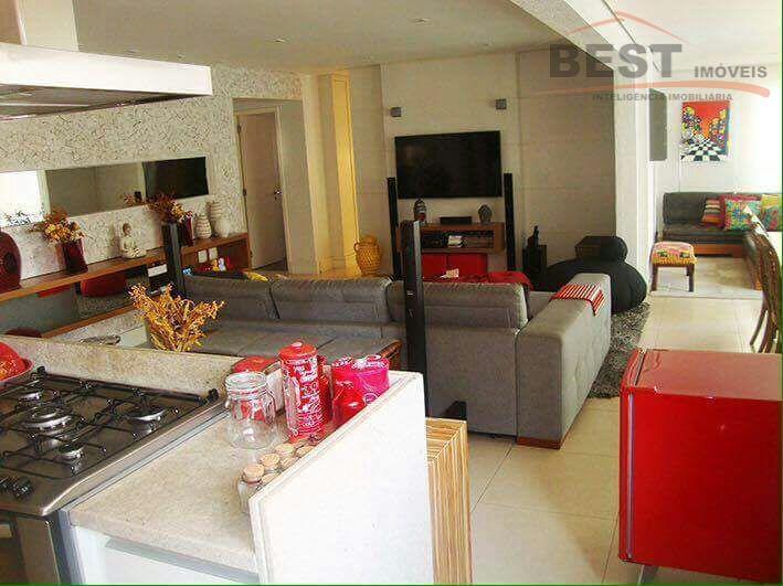 melhor rua, condomínio com lazer completo, apto impecável, 3 dormitorios, escritório, living 2 ambientes, varanda envidraçada,...