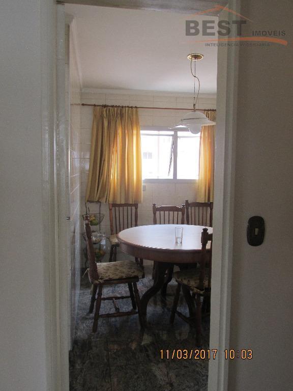 excelente apartamento,de 160 metros quadrados,4 quartos,sendo 2 suítes,sala três ambientes,cozinha rica em armários,lavanderia bastante espaçosa e...