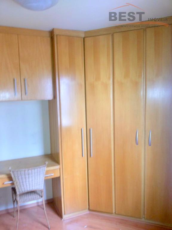 lindo apartamento contendo uma suíte, sala cozinha, banheiro social, 1 vaga de garagem. rico em armários.venham...