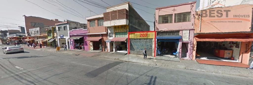 Terreno comercial à venda, Lapa, São Paulo.