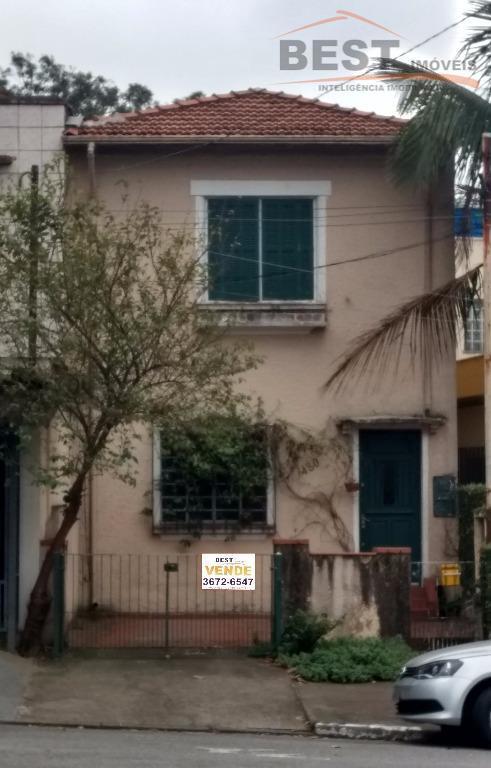 Sobrado residencial à venda, Lapa, São Paulo.