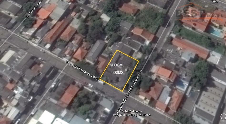 Terreno residencial à venda, Vila Clarice, São Paulo.