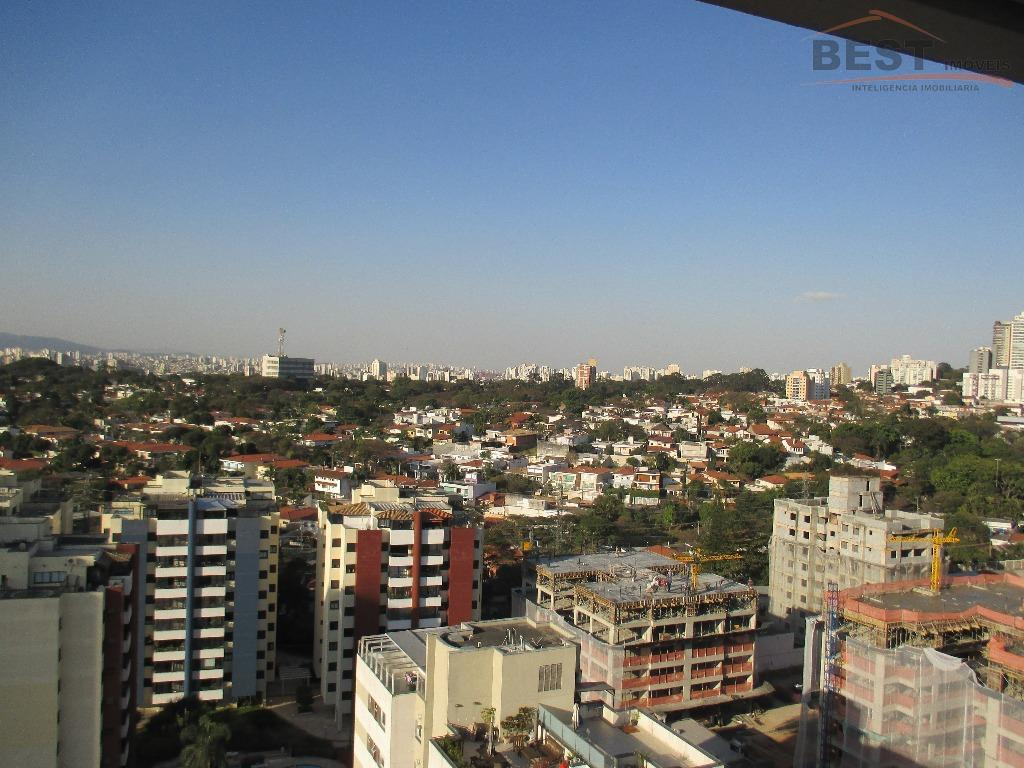 ótima rua, prédio semi-novo, andar alto, com vista para city lapa, 3 suítes com armários embutidos,...