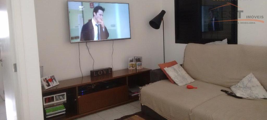 apartamento com 03 dormitórios, sendo 1 suíte, 2 vagas 92m2, dormitório com armário planejado, sala com...