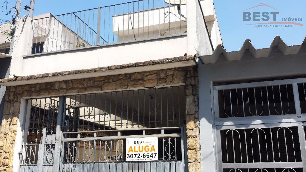 Sobrado residencial para locação, Vila Anastácio, São Paulo.