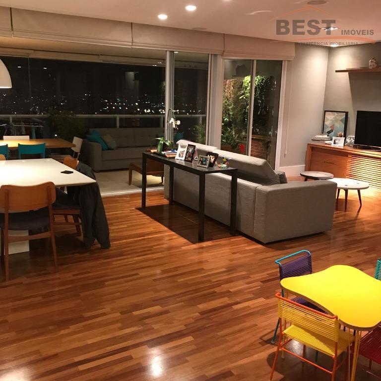 ótimo condomínio, lazer clube, andar alto, 3 suítes com armários, living 2 ambientes, cozinha planejada,dep. empregada,...