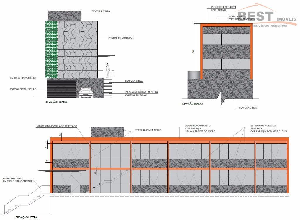excelente prédio novo na melhor rua do alto da lapa, com zoneamento que permite qualquer tipo...