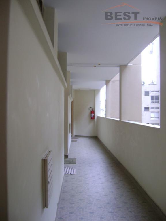 excelente apartamento de 40,00 m² todo mobiliado há 450 metros do metrô santa cecília, prédio antigo,...