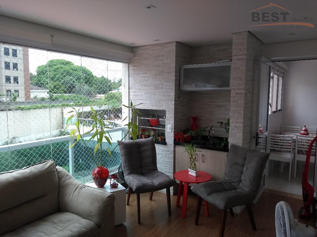 melhor rua da vila leopoldina, condomínio com área lazer completa, apto com 3 suítes com armários,...