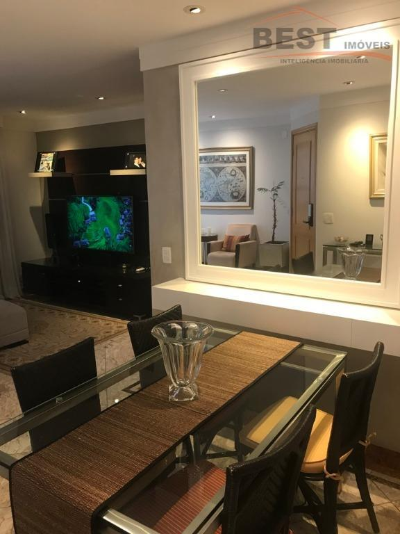 apartamento face norte, condomínio com lazer completo, andar alto, 3 dormitórios sendo 1 suite com armários...