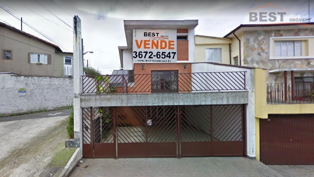 Sobrado residencial à venda, Alto de Pinheiros, São Paulo.