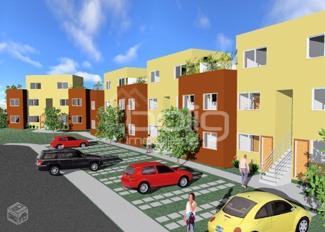 Apartamento residencial à venda, Maria Paula, São Gonçalo - AP0498.