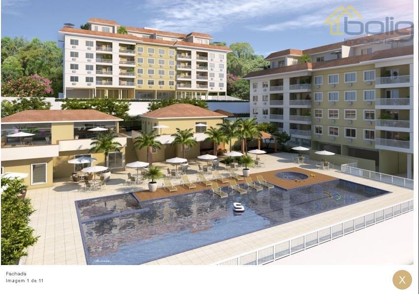 Apartamentos e coberturas duplex 2, 3 ou 4 quartos com suite - Itaipava - Petropolis
