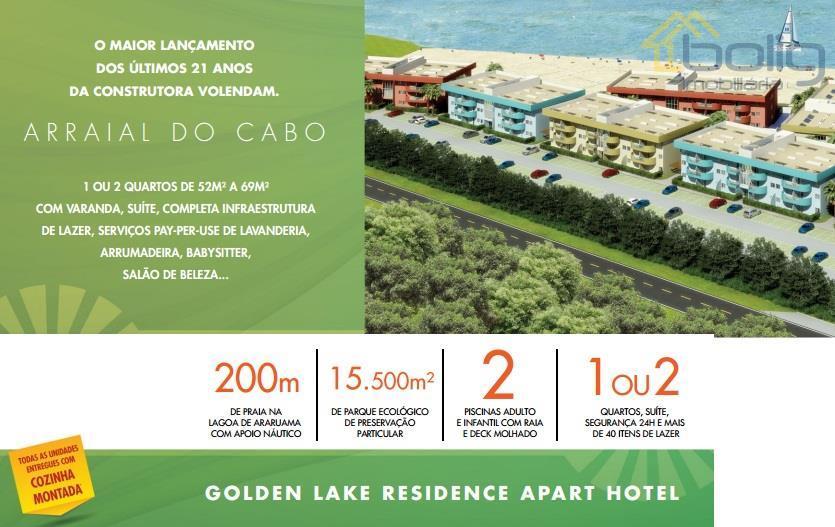 Apartamentos de 1 ou 2 quartos  , Figueira, Arraial do Cabo.
