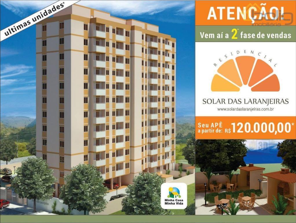 Apartamento  residencial à venda, Laranjal, São Gonçalo.