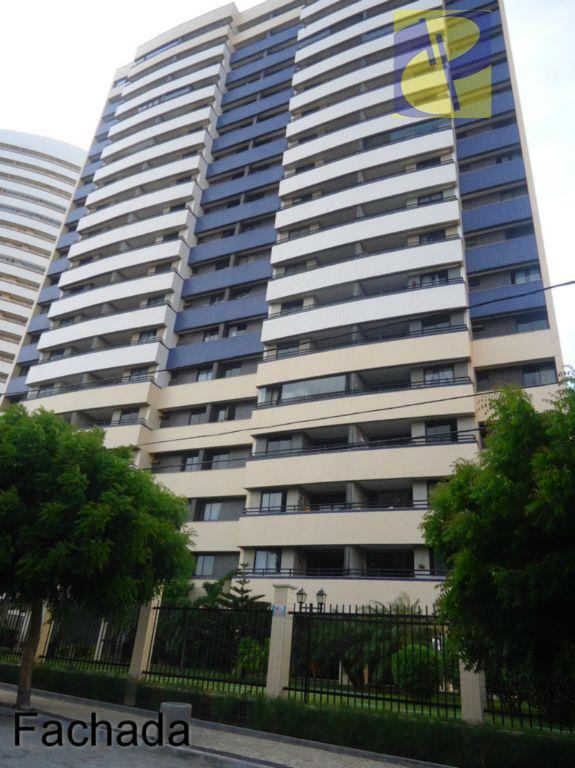 Apartamento residencial para locação, Cidade dos Funcionários, Fortaleza - AP0746.