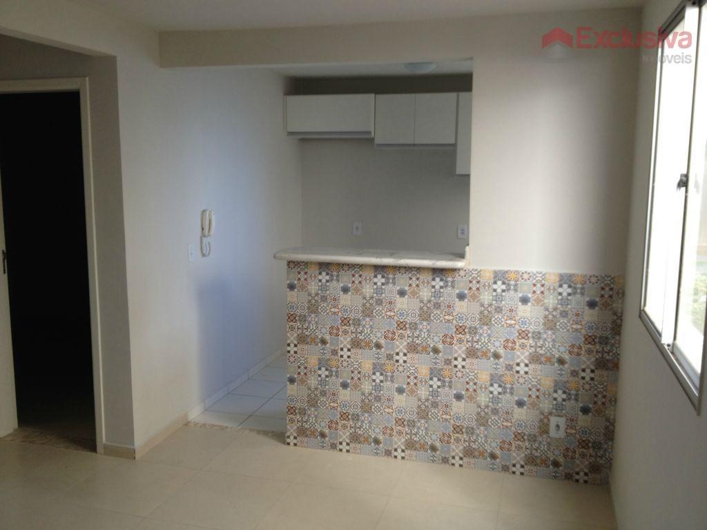 Apartamento  residencial para locação, Vila Monte Alegre V, Paulínia.