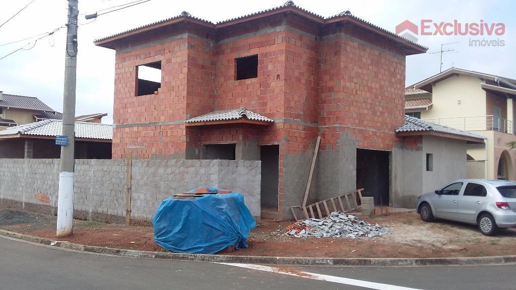 execelente sobrado em construção, c/ 03 suítes, sala tv/jantar, cozinha, w.c social, lavanderia, dormitório p/ empregada,...