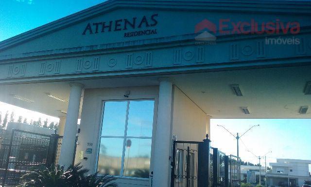 Terreno residencial à venda, Residencial Athenas, Paulínia - TE0398.