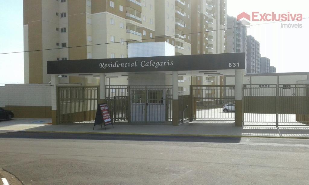 Apartamento residencial para locação, Jardim dos Calegaris, Paulínia.
