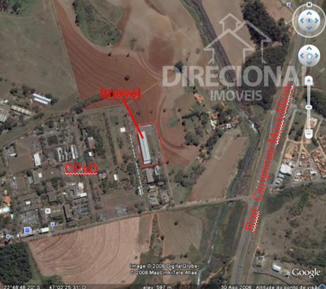 Galpão industrial para venda e locação, Fazenda Pau D Alho, Campinas.