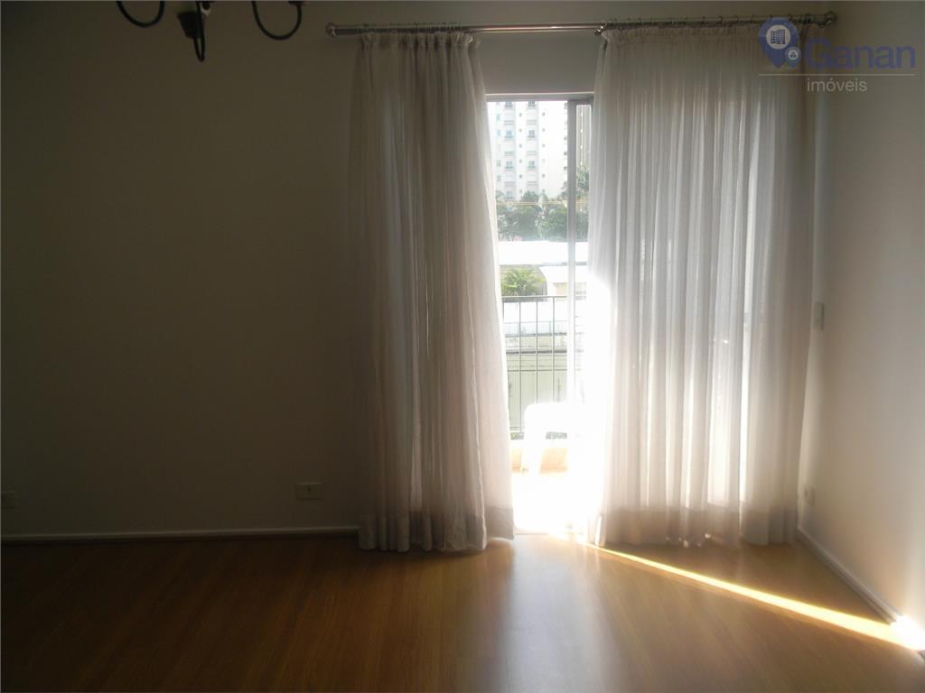 Apartamento residencial para locação, Campo Belo, São Paulo - AP1454.