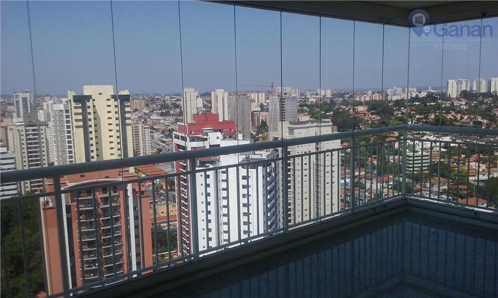 Locação apartamento com terraço gourmet, 3 dormitórios, Vila Mascote.