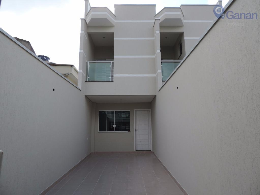 Sobrado residencial à venda, Chácara Mafalda, São Paulo.