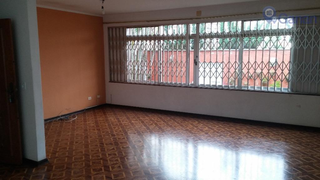 Sobrado residencial para locação, Moema, São Paulo - SO0263.