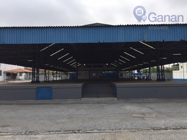 Galpão comercial para locação, Vila Ribeiro de Barros, São Paulo.