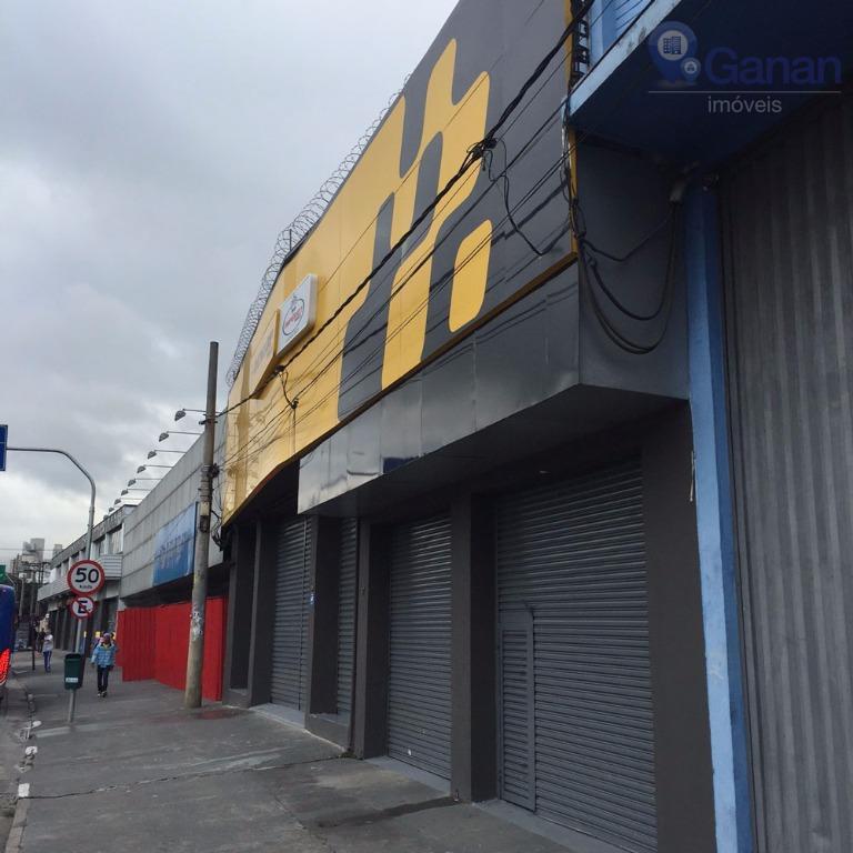 Galpão comercial para locação, Barra Funda, São Paulo.