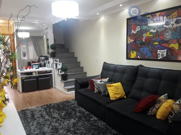 Sobrado residencial à venda, Vila Santa Catarina, São Paulo.